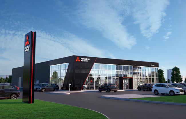 Mitsubishi Motors Introduces New Design For Dealerships