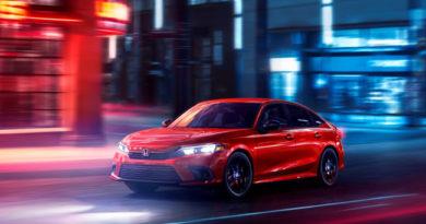Honda Gives A Peek Of Its 2022 Civic
