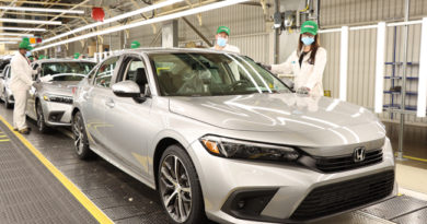 2022 Honda Civic Sedan Begins Production in Canada
