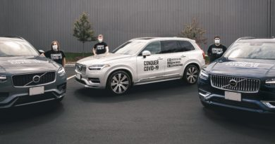 Conquer COVID-19 wraps with the Volvo Cars Canada press fleet recording 47,249 km delivering PPE