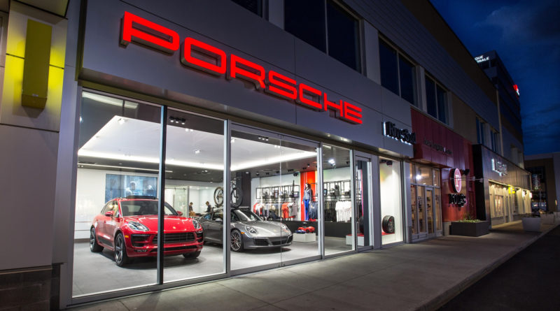 The new Porsche City Showroom in Brossard is the first of its kind in North America for the brand.
