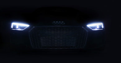 Audi R8 V10 Plus has laser lights standard