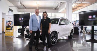 BMW Canada Enters Partnership With Tennis Canada