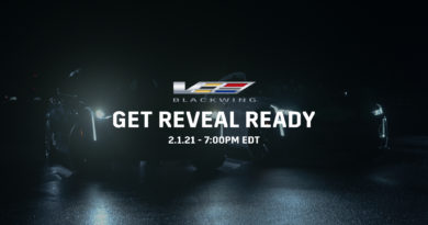 Cadillac to Reveal V-Series Blackwings on February 1