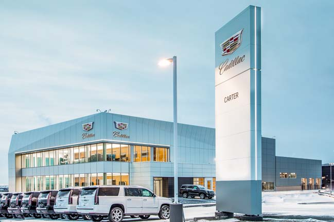 Cadillac S Largest Stand Alone Dealership Opens In Calgary
