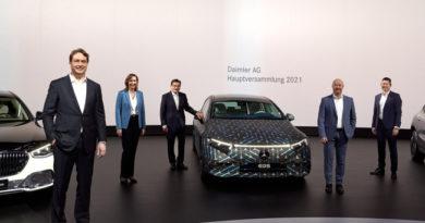 Daimler Accelerates Electric Push