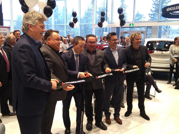 First New Image Mitsubishi Motors Dealership In North America Opens