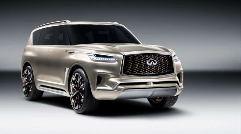 "HONG KONG — INFINITI has just revealed the QX80 Monograph, a new design study exploring ""upscale luxury"" and signaling the brand's intention to further develop its standing in the large SUV segment."