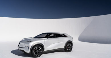 INFINITI QX Inspiration Debuts At North American International Auto Show