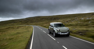 Jaguar Land Rover Developing Hydrogen-Powered Defender Fuel Cell Prototype