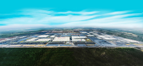 Kia Motors Mexico Plant Aerial View (CNW Group/KIA Canada Inc.)