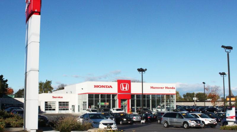 For Dealer's Voice column. Hanover Honda in Hanover, Ont., owned by Dealer's Voice columnist Larry Lantz  Uploaded external by: Jodi Isenberg