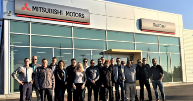 Doors open to newly imaged Mitsubishi store