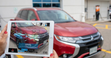 Mitsubishi AR Tablet Tool Helps Dealers Explain Outlander PHEV To Buyers