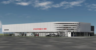 Pfaff Porsche Begins Construction At Cadillac Fairview's Markville Mall