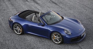 Porsche Showcases New 911 Cabriolet