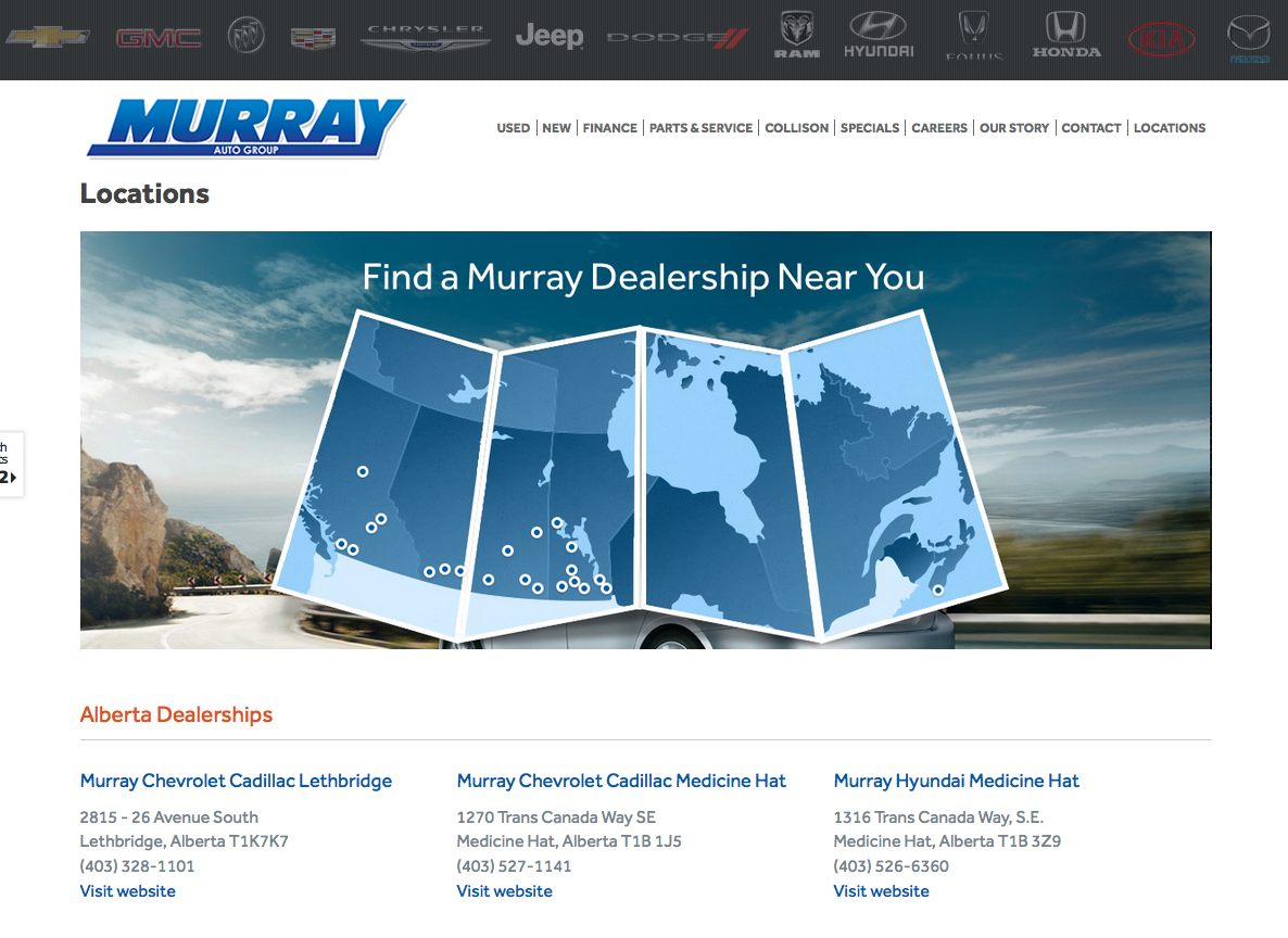 Murray Auto Group building new Chrysler store in Southern Alberta ...