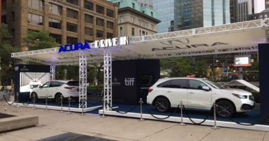 Acura Canada Official Vehicle Partner For TIFF