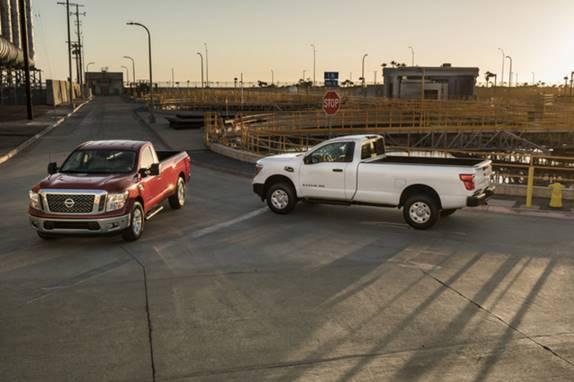 2017 Nissan TITAN XD and TITAN Single Cabs