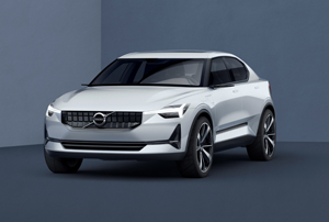 Volvo's 40 series concept car